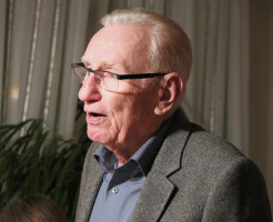 Kassier Peter Prokop präsentiert einen soliden Kassenstand