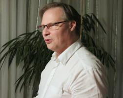 Fraktionsvorsitzender Curd Blanc berichtet von diversen Projekten, die angeschoben wurden