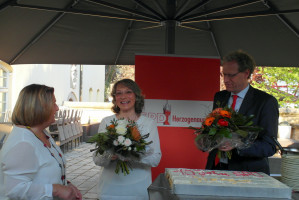 Blumen für German und Renate