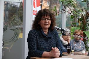 Festrednerin Martina Stamm-Fibich bei Ihrer engagierten und nachdenklichen Rede