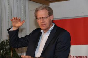Grußwort und Statements vom 1. Bürgermeister German Hacker