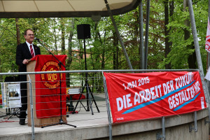 Grußwort vom DGB OV-Vorsitzenden Thomas Mölkner