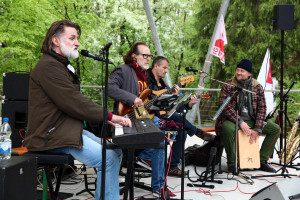 Live-Musik mit John Marshall and Friends