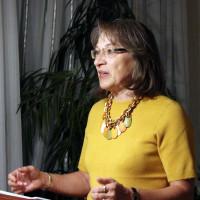 Die Ortsvereinsvorsitzende Renate Schroff begrüßt die anwesenden Mitglieder und gibt einen Jahresrückblick