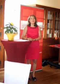 Begrüßung durch OV-Vorsitzende Renate Schroff